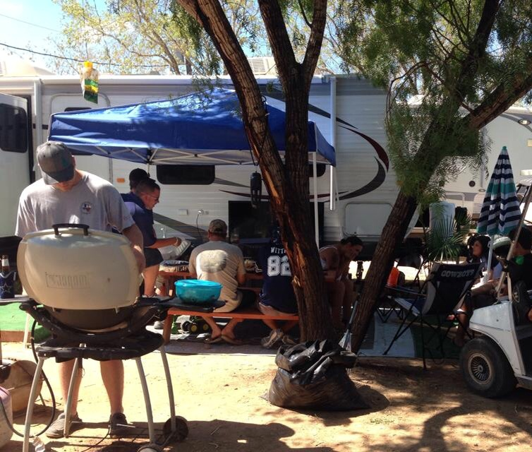 RV Camp - Barbecue